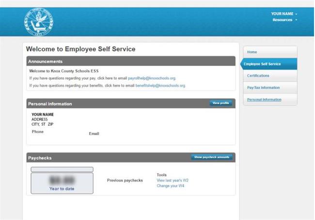 Access My Payroll Info?