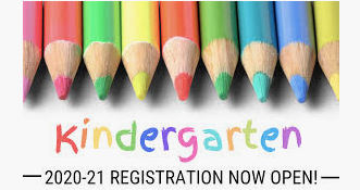 CLICK here for Kindergarten Registration: MAY 12th from 2:00 to 6:00
