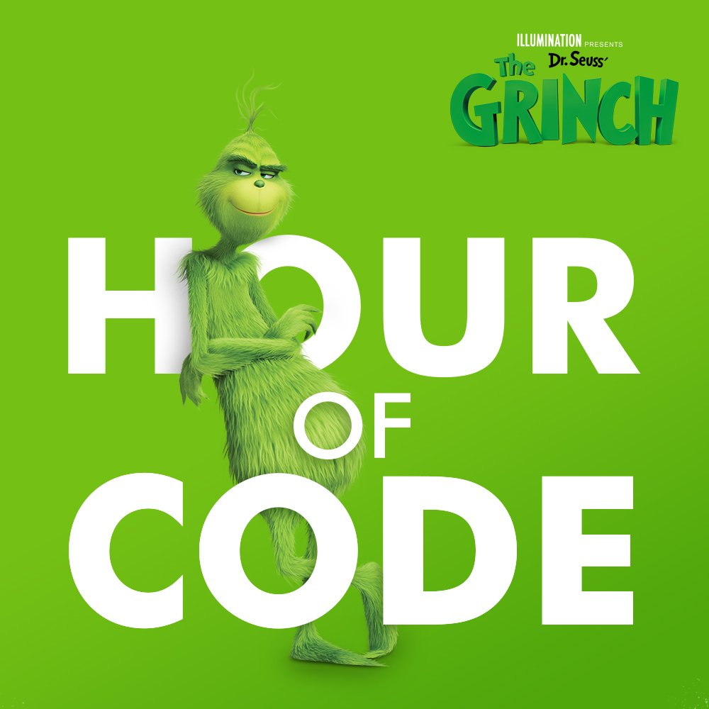 Code with Dr. Seuss's The Grinch