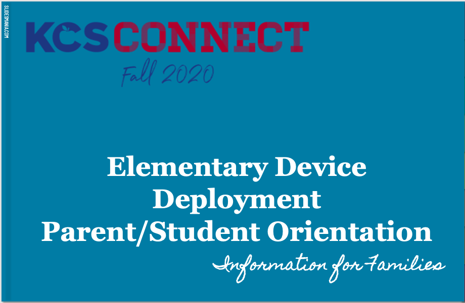 Parent Student Device Information