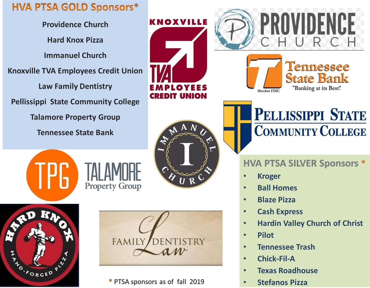 Thank you to our amazing sponsors!