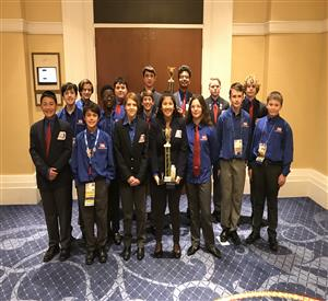 TSA Group at Nationals 2018-2019