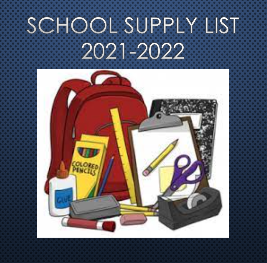 Grade Level Supply LIsts