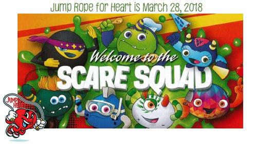 Jump Rope for Heart March 28