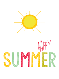 Have Great Summer!