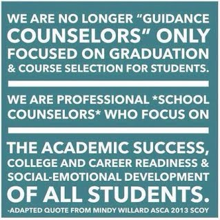 School Counselors Are...