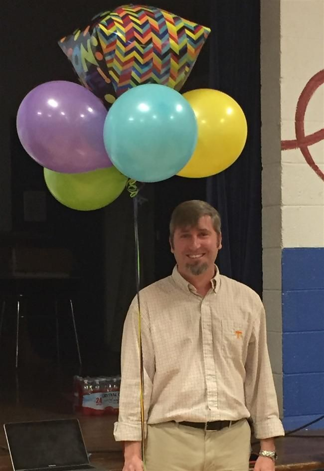 "Mr. Kelly Farr selected ""Teacher of the Year"" for the 2nd time in just 6 years!"
