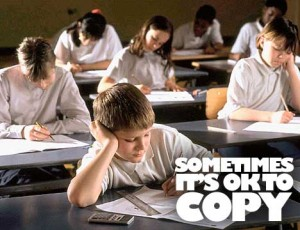 Sometimes it's OK to Copy