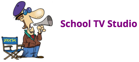School TV Studio Logo