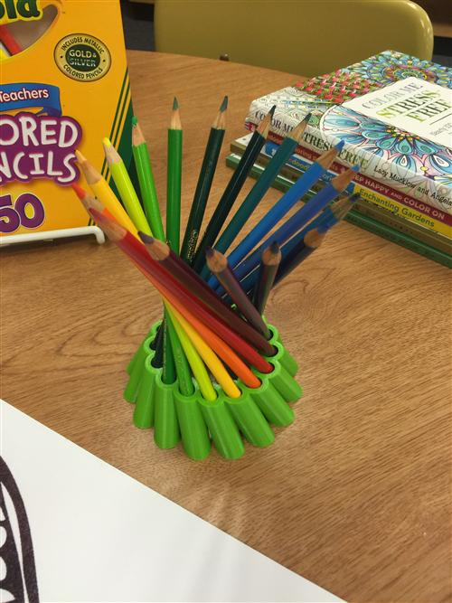3D Printed Pencil Holder