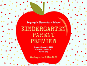 2020/21 Kindergarten Parent Preview