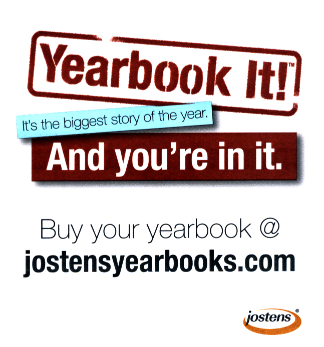 Yearbooks On Sale Now Through Jostens