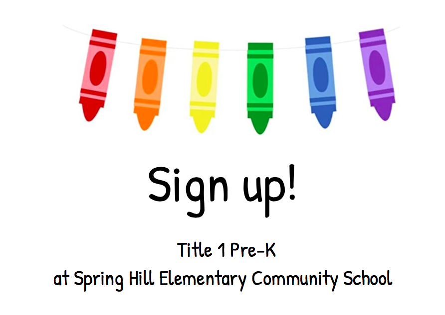 Sign up for Pre-K