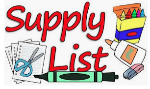 20-21 Supply Lists
