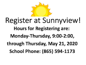 Register at Sunnyview