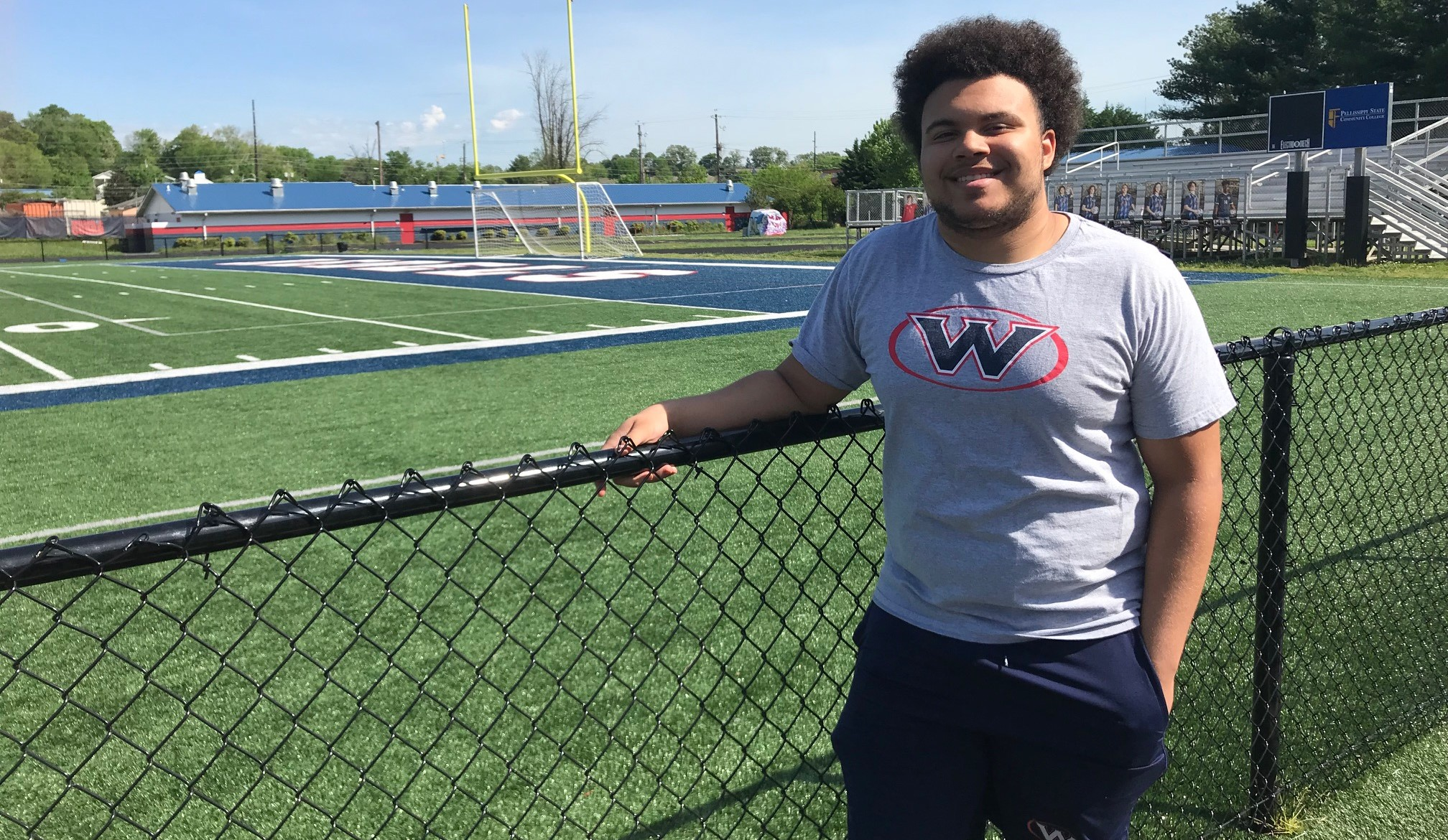 DeVore Solomon is a defensive lineman on the West High School football team who was recently honore as the Boys & Girls Club Youth of the Year.