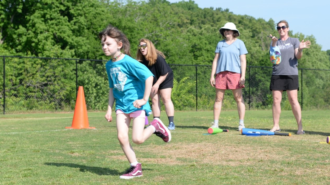 Students and teachers celebrate Field Day at Northshore Elementary in May, 2019.