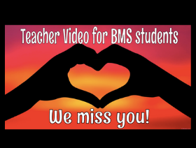 Teacher Miss You Video for Students