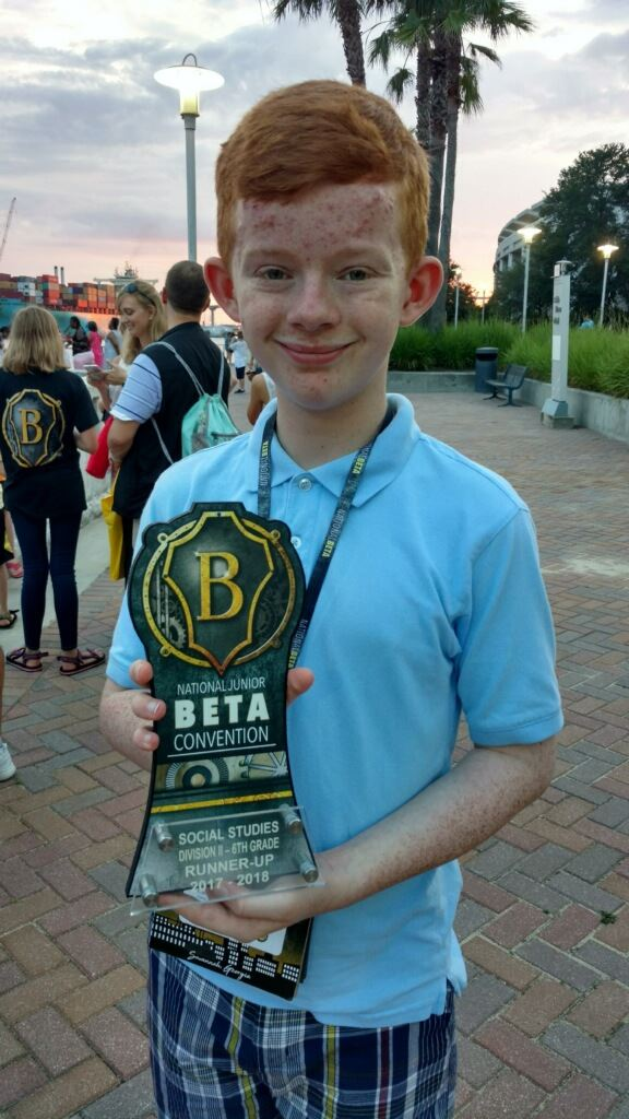 Carter Middle Student Wins National Award