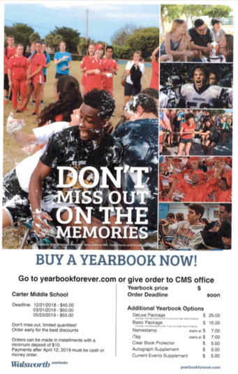 2019 Yearbooks Are On Sale Now!