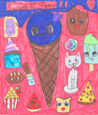 Natalie Connell - Spring Hill Elementary School - Kawii Food