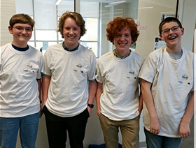Science Bowl Team places 3rd at STATE