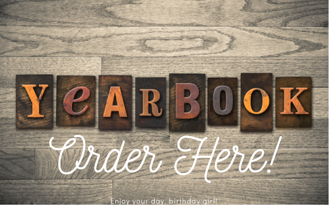 Order your Yearbook !