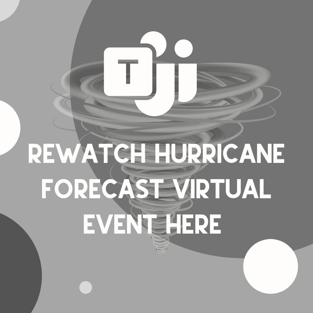 Incoming 2021-2022 6th Grade Students! Rewatch Hurricane Forecast HERE!