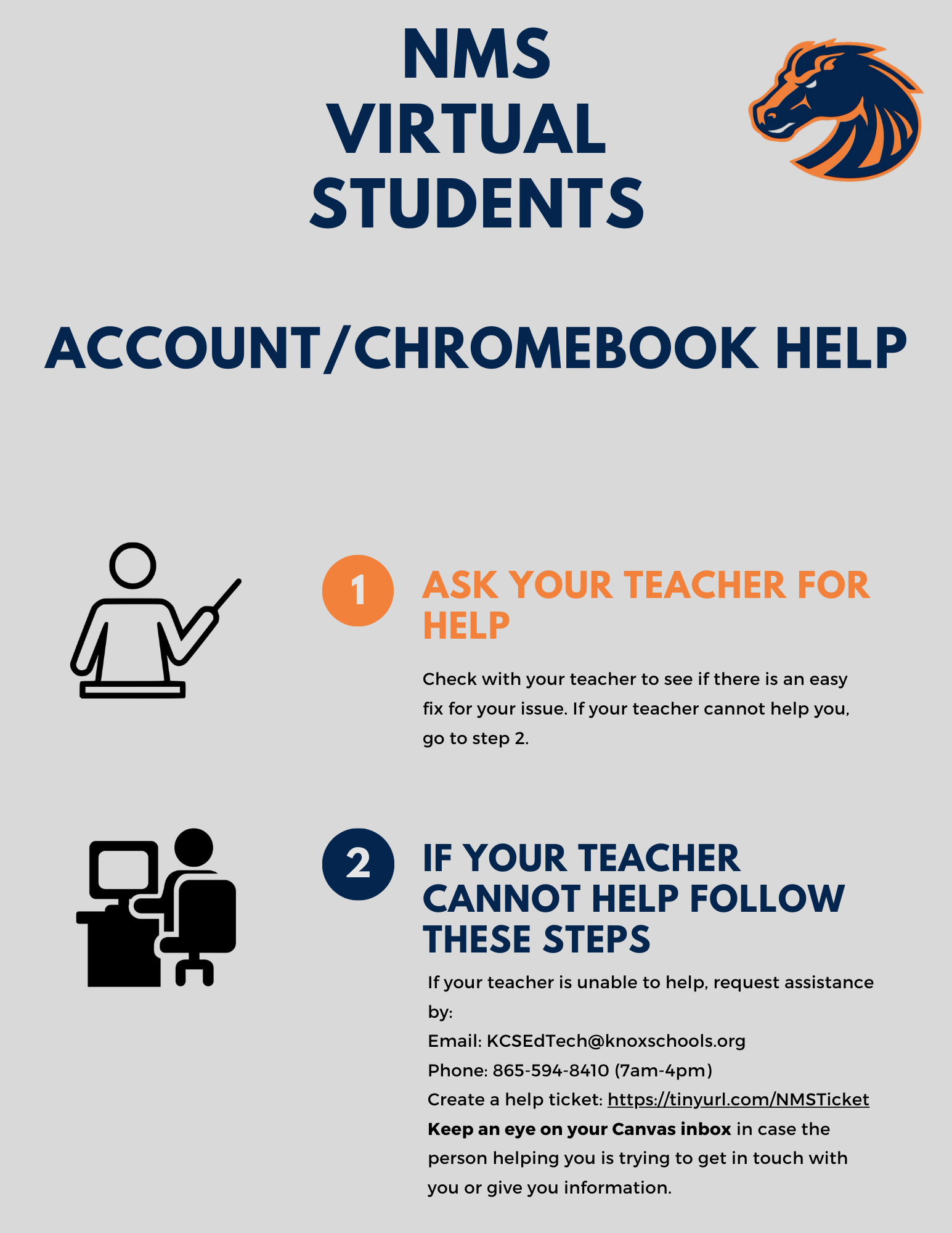 Virtual Student Technical Assistance