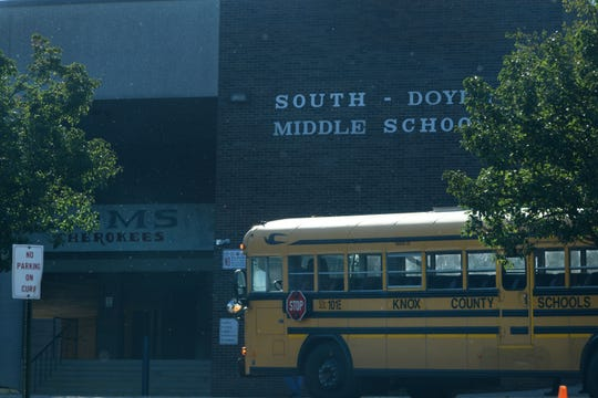 SDMS Building and Bus