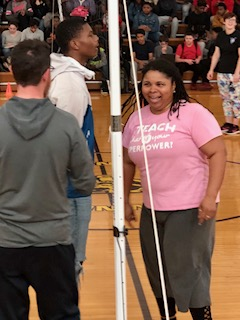 Students VS. Teachers Volleyball Match