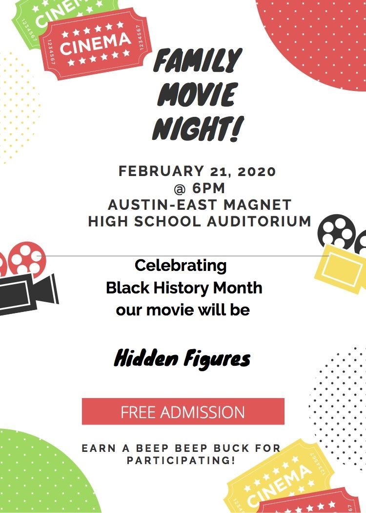 February Family Movie Night