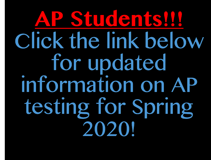 AP Exams Update S20