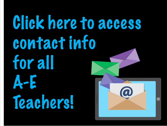 A-E Teacher Contacts
