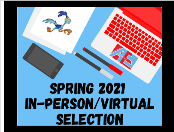 Spring In-Person/Virtual Selection