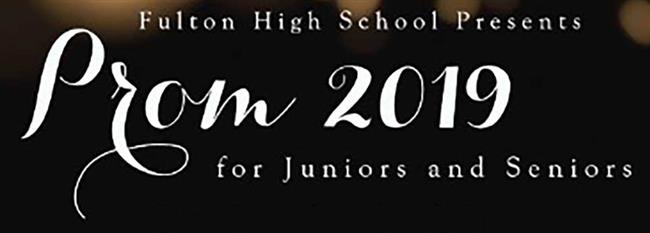PROM 2019 INFORMATION