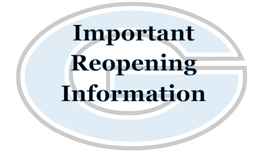 Gibbs High School Reopening Information