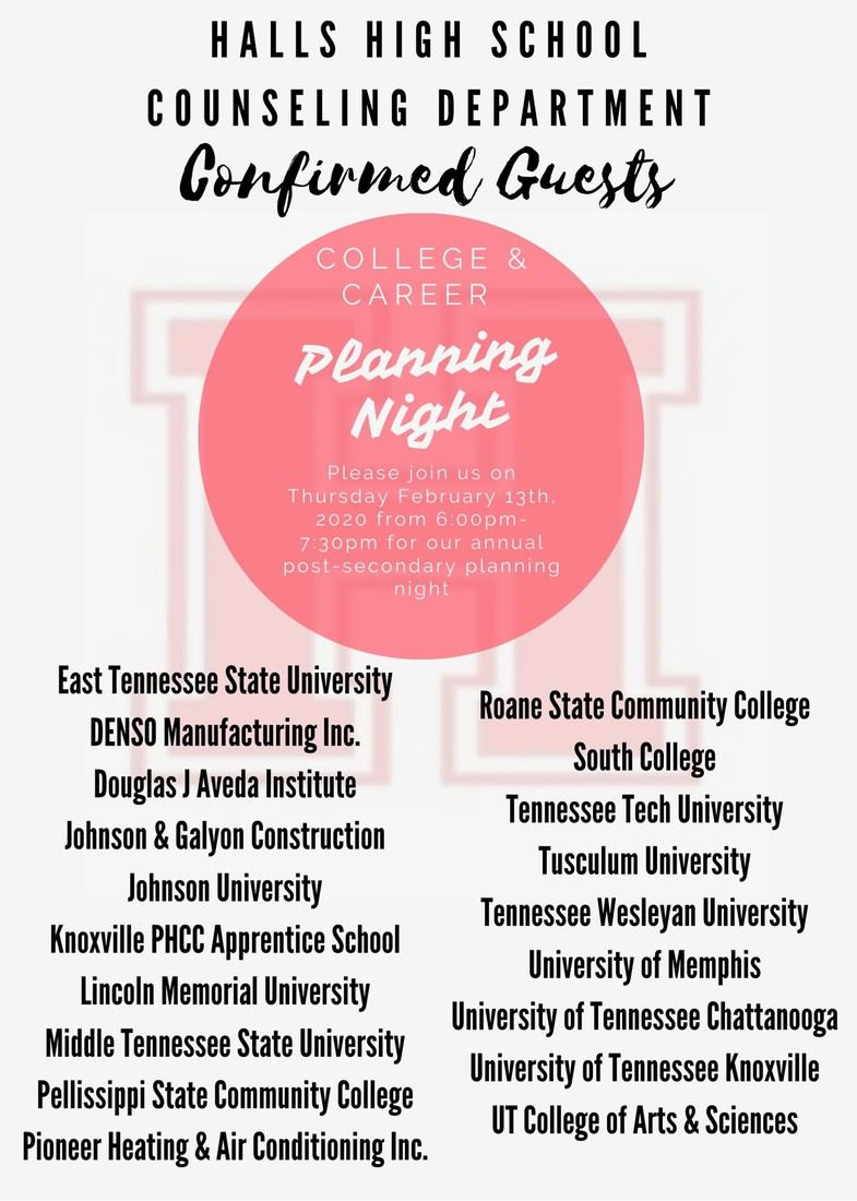 Open House and College and Career Planning Night