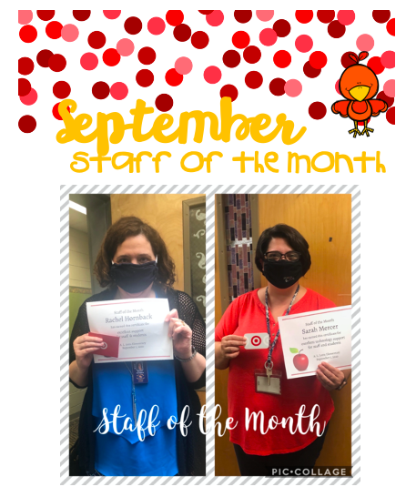 Staff of the Month