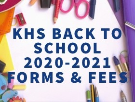 KHS 2020-2021 Forms and Fees