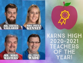 2020-21 KHS Teachers of the Year
