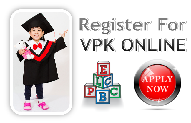 Please register now for Voluntary Pre-K. This program is income based.