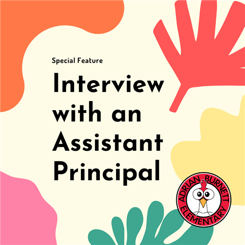 interview with an assistant principal