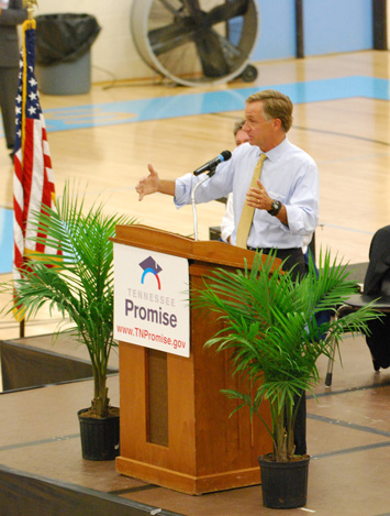 Haslam Speaks to GHS
