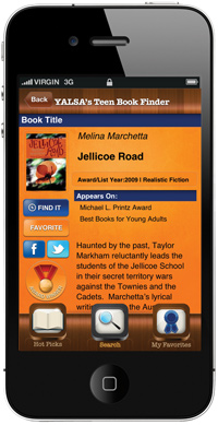 YALSA Book Finder App