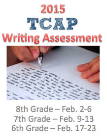 2015 TCAP Writing Assessment
