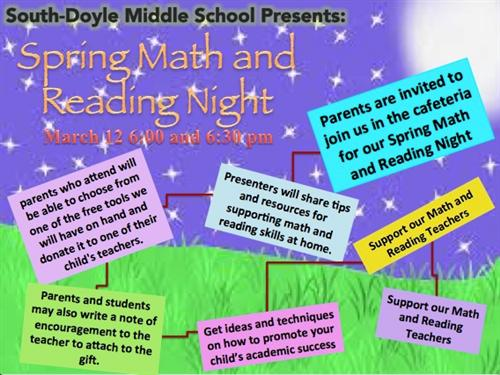 Spring Math and Science Night